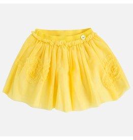 Mayoral Tull skirt Yellow