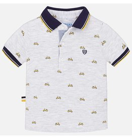 Mayoral S/s polo Gray