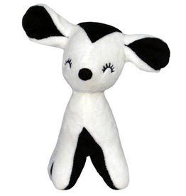 A Little Lovely Company Softie Little Deer black-white