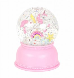 A Little Lovely Company Snowglobe light Unicorn