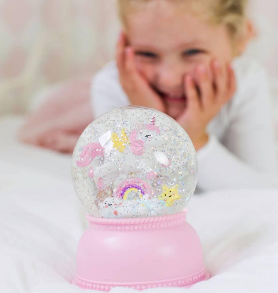 A Little Lovely Company Snowglobe light Unicorn