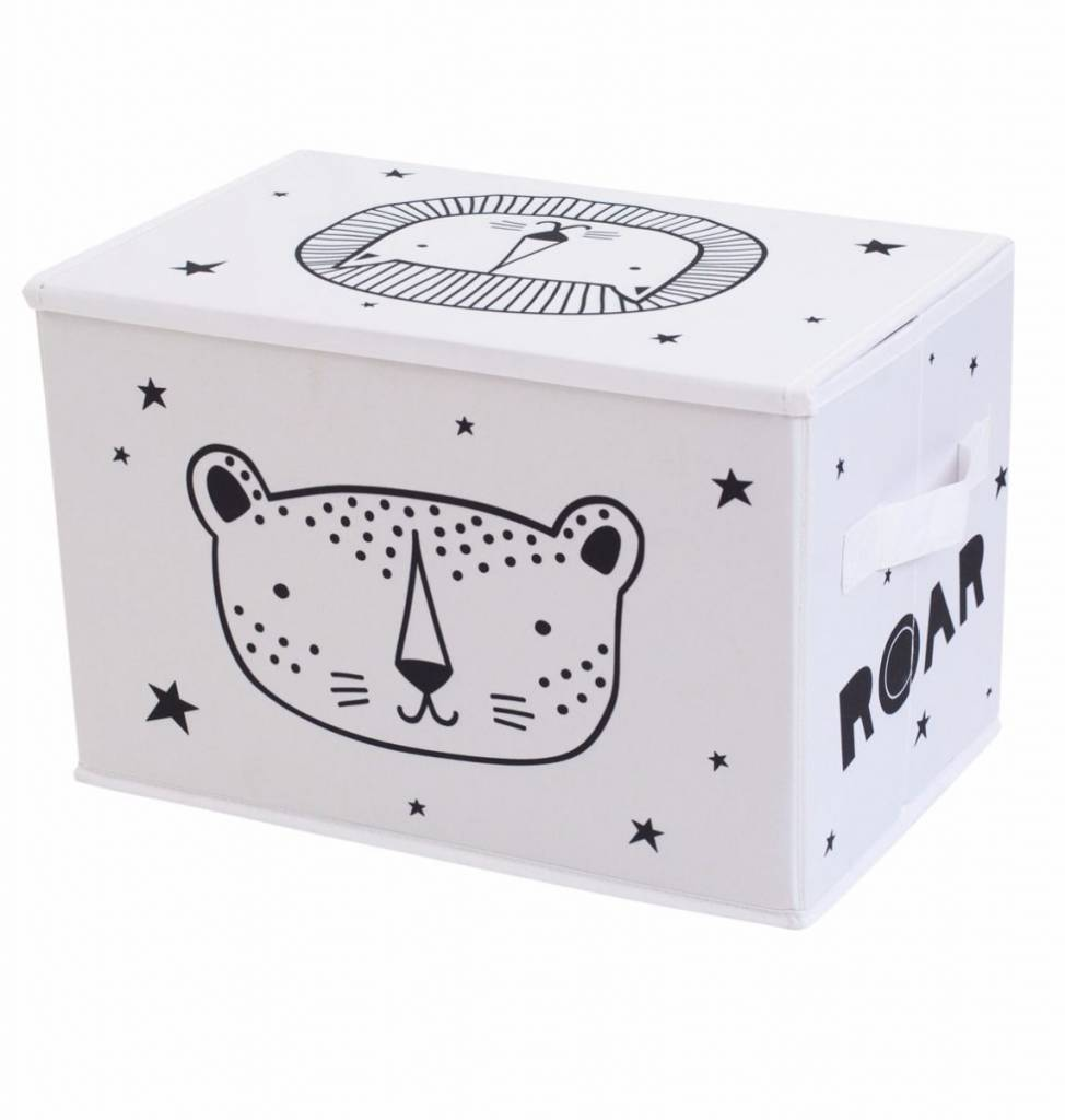 A Little Lovely Company Pop-up storage box Roar