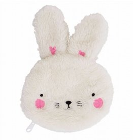 A Little Lovely Company Pocket money purse Fluffy Bunny