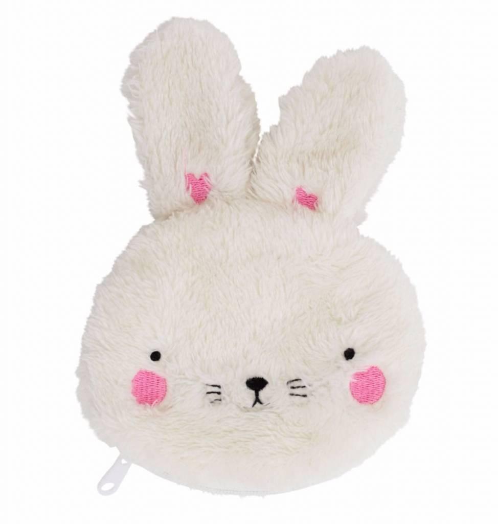 A Little Lovely Company Pocket money purse Fluffy Bunny
