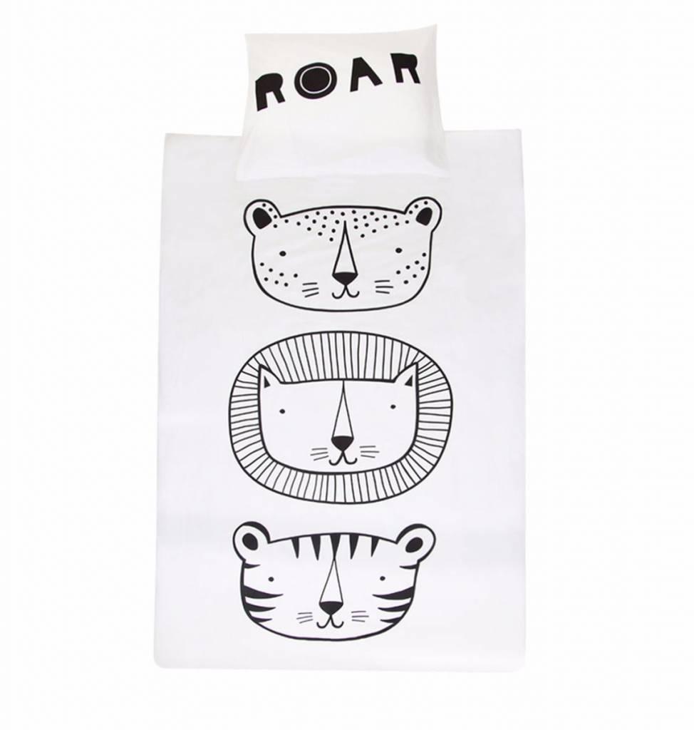 A Little Lovely Company Duvet cover Roar