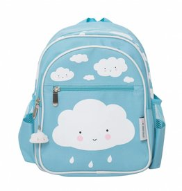 A Little Lovely Company Backpack Cloud blue