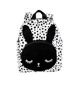 Van Pauline Backpack Bunny Black&White
