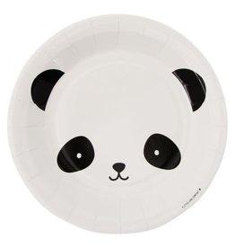 A Little Lovely Company Paper Plates Panda