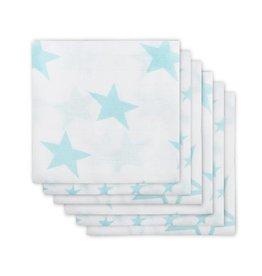 Jollein Set 6 Hydrofiele Doeken Little Star Jade