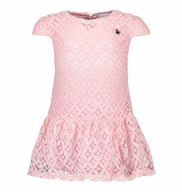 Le Chic Baby Girls Dress Fancy Lace Powder