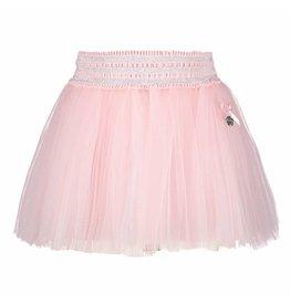 Le Chic Baby Girls Skirt Net Powder