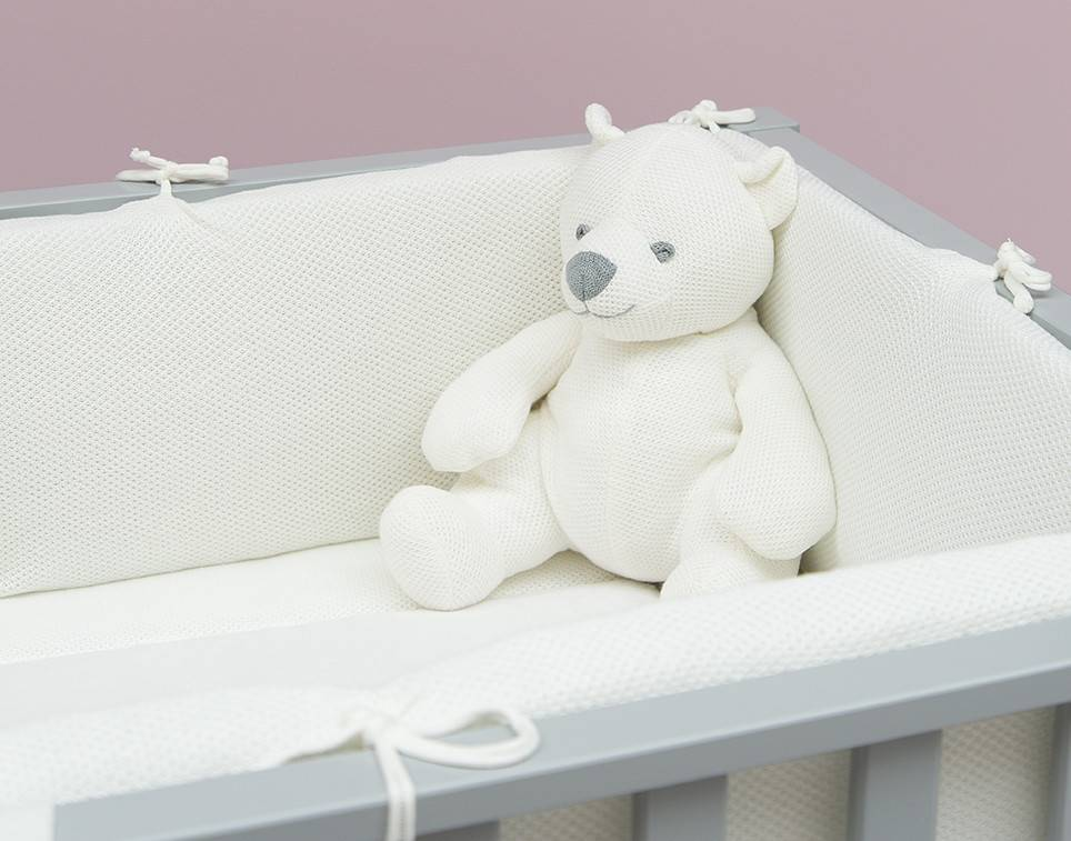 Baby's Only Classic Boxkleed Small 75x95cm Wolwit