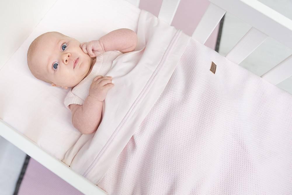 Baby's Only Classic Dekbedovertrek 100x135cm Classic Roze