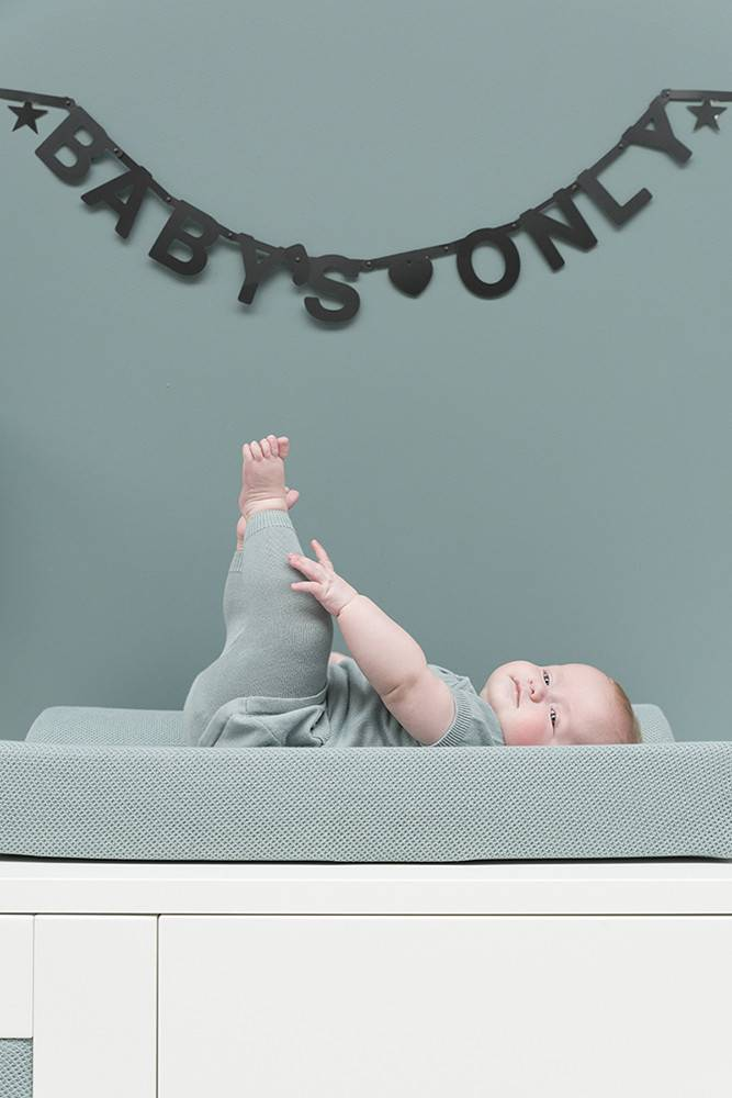 Baby's Only Classic Aankleedkussenhoes Stonegreen