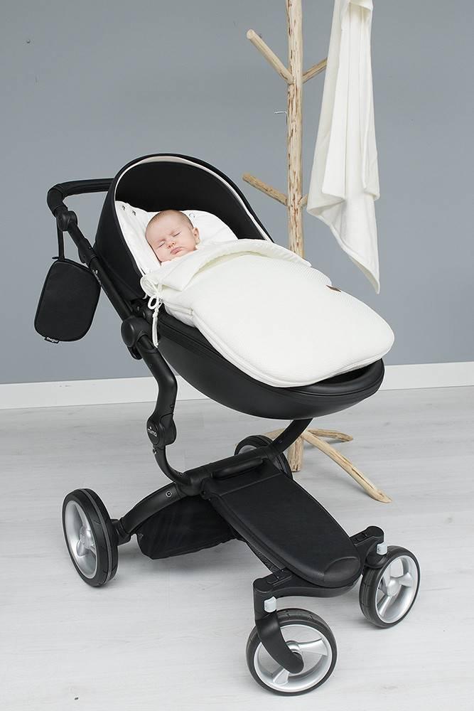 Baby's Only Classic Voetenzak Autostoel 0+ Wolwit