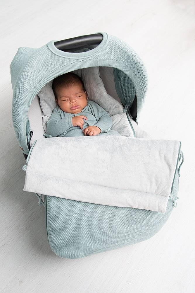 Baby's Only Classic Voetenzak Autostoel 0+ Mint