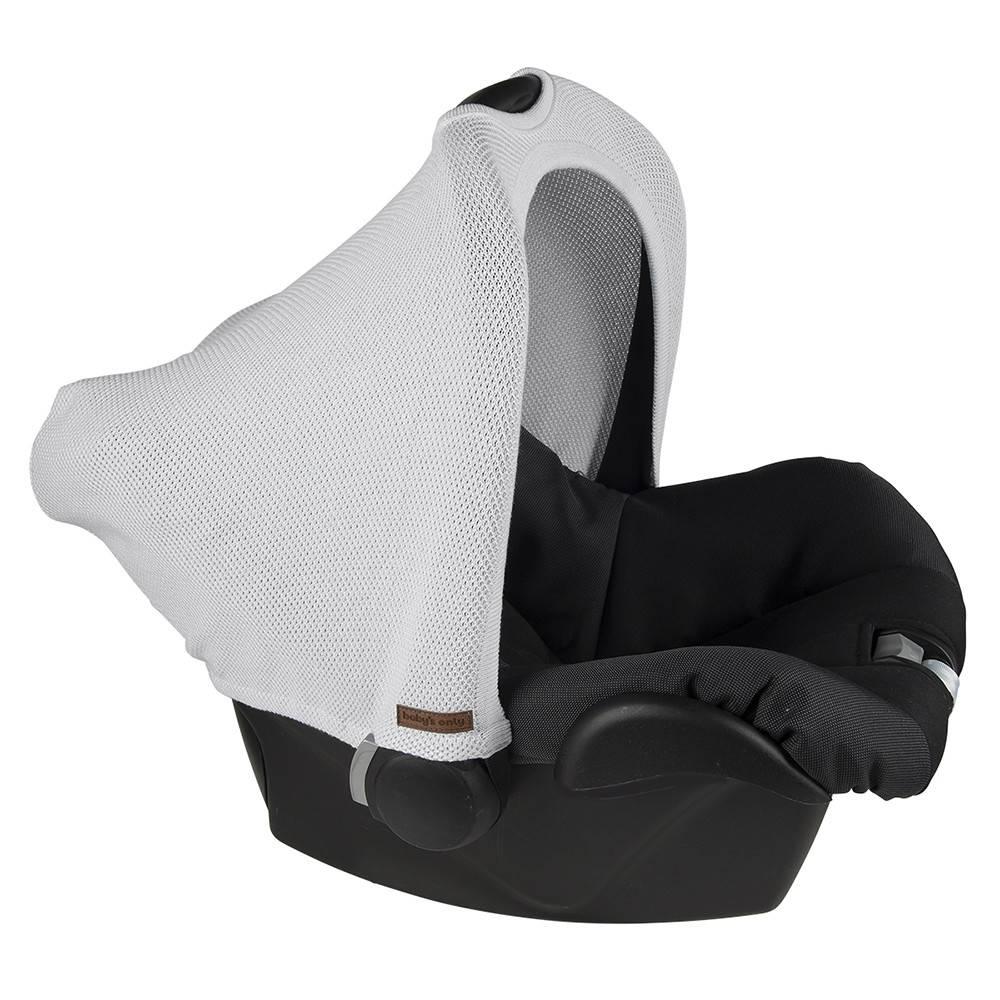 Baby's Only Classic Kap Autostoel 0+ Zilvergrijs