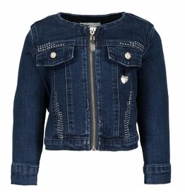 Le Chic Gils Jacket With Zipper Glam Denim