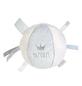 Bambam Soft Star Chime Ball Blue