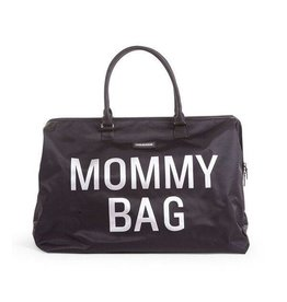 Childhome Mommy Bag Black-Silver