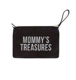 Childhome Mommy Clutch Black-Silver