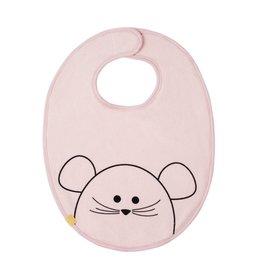 Lassig Medium Bib Little Chums Mouse