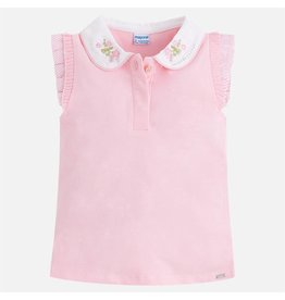 Mayoral S/s polo t-shirt  Rose