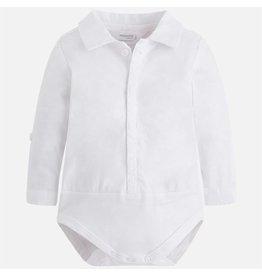 Mayoral M/L Stretchy onesie t-shirt White