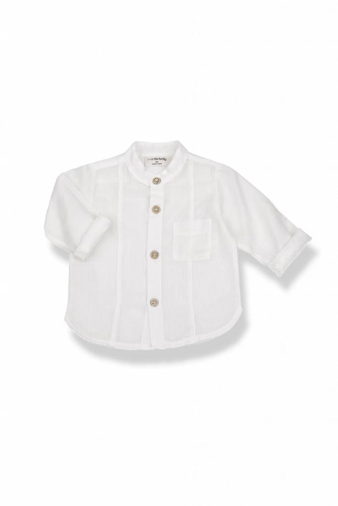 1+InTheFamily Mauro Shirt White