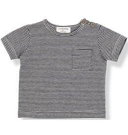 1+InTheFamily Albert Shirt Blu Notte