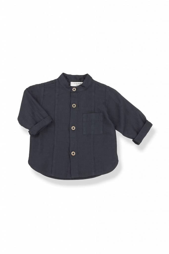 1+InTheFamily Mauro Shirt Blu Notte