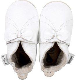 Bobux Bobux White Bow 3-9 Months