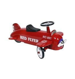 Dam Loopauto Plane Red