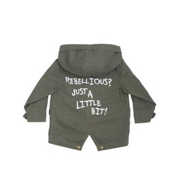 Lucky No 7 Summer Parka Jacket Rebellious