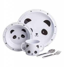 A Little Lovely Company Dinner Set Panda