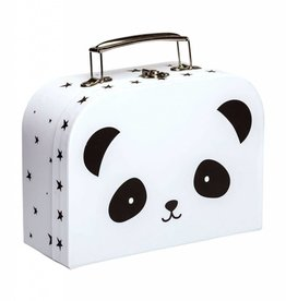 A Little Lovely Company Suitcase Panda