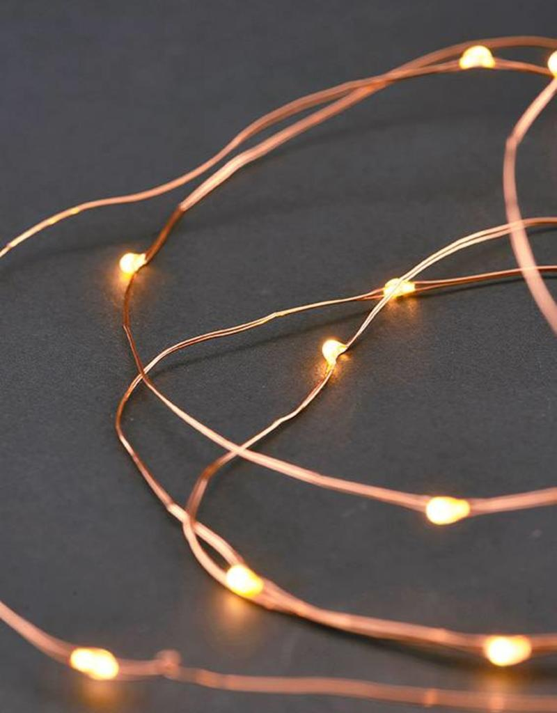 House Doctor Guirlande String Lights Cuivre 10m