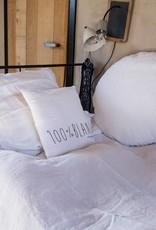 Bed & Philosophy Mercer Taie Ronde Blanc