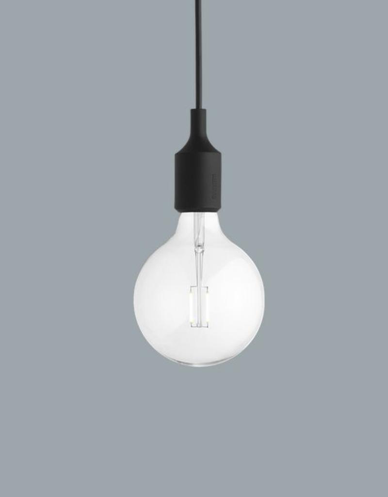 Muuto E27 Black LED