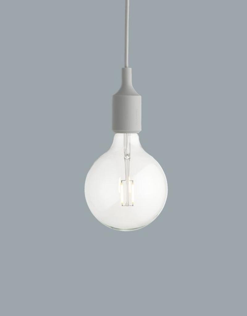 Muuto E27 Light Grey LED