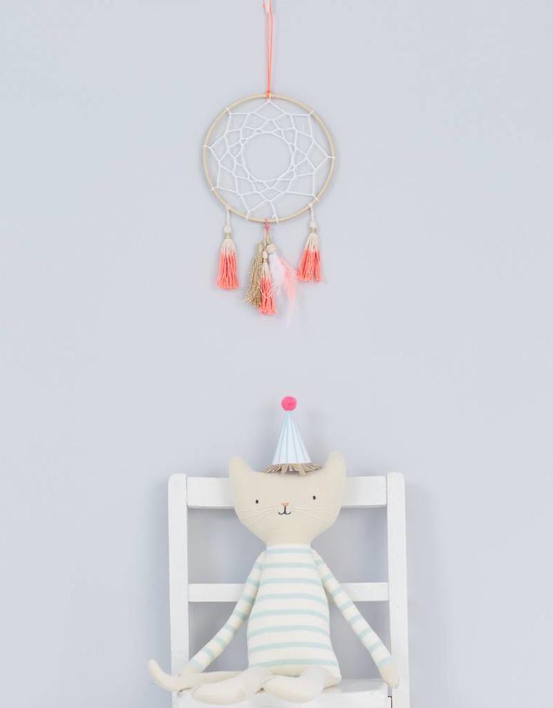 Meri Meri Doudou chat blanc