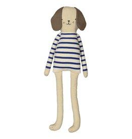 Meri Meri Doudou chien bleu