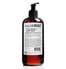 L:A Bruket Savon liquide No.74 Concombre & Menthe - 450 ml