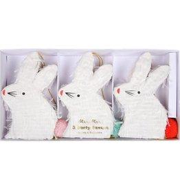Meri Meri 3 mini piñatas - Lapin