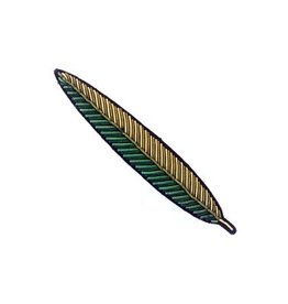Macon&Lesquoy Broche - Feuille d'olivier -