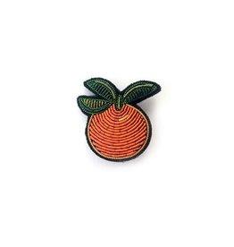 Macon&Lesquoy Broche - Orange -