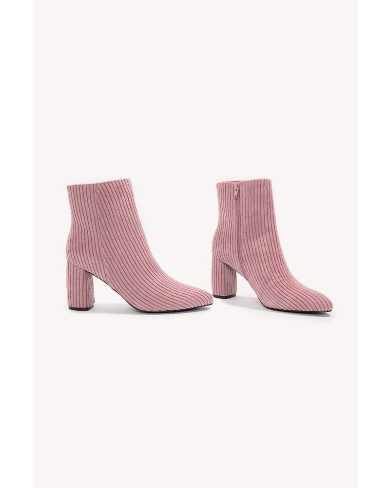 NA-KD MANCHESTER BOOT rose