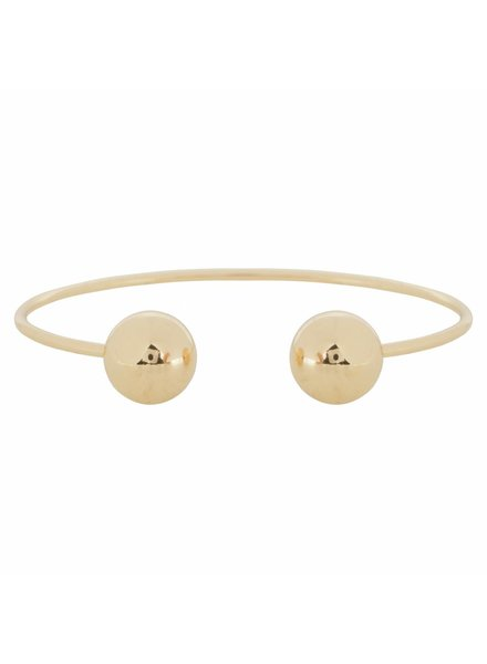 CLUB MANHATTEN COSMIC CUFF goldplated