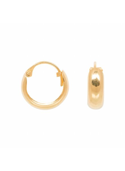 Eline Rosina SMALL HOOPS gold