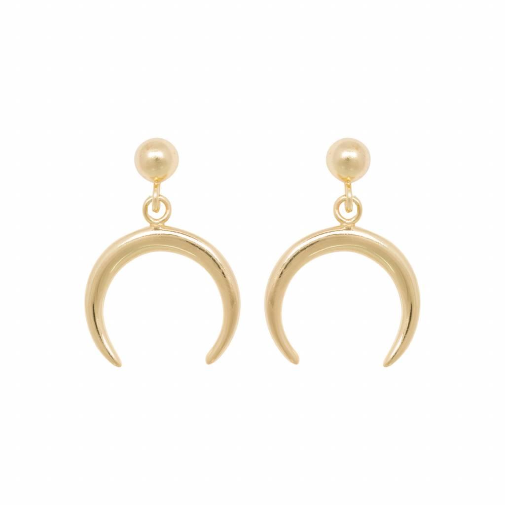 Eline Rosina TUSK earring gold